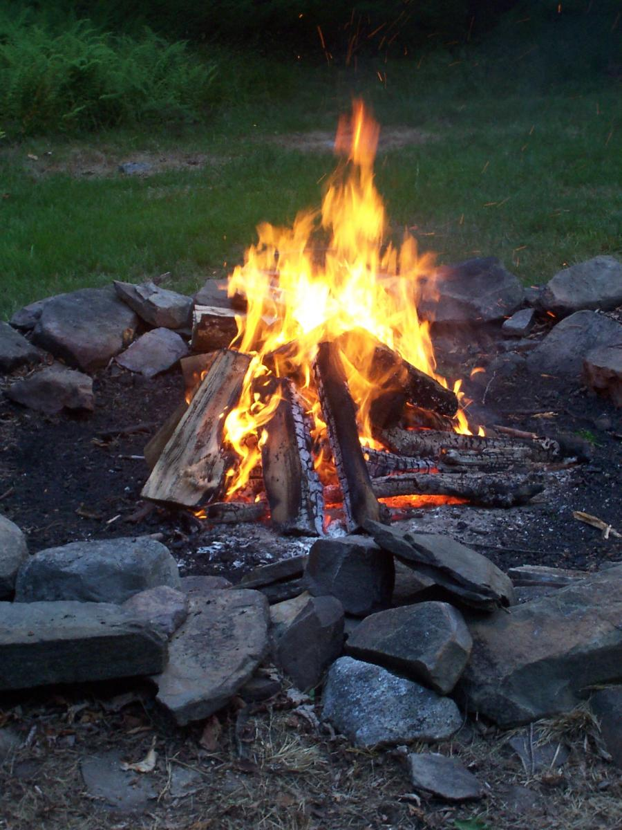 A Variety Of Outdoor Locations Are Availalbe For Campfires Not Bonfires Coordinate The Use
